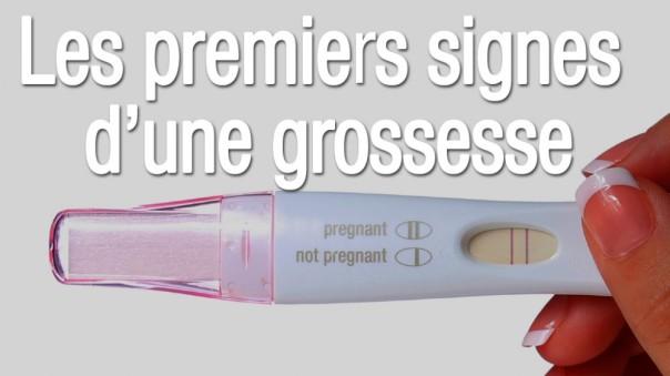 Symptômes de grossesse